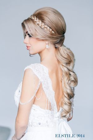 свадебные прически - awesome website for glamorous hair styles