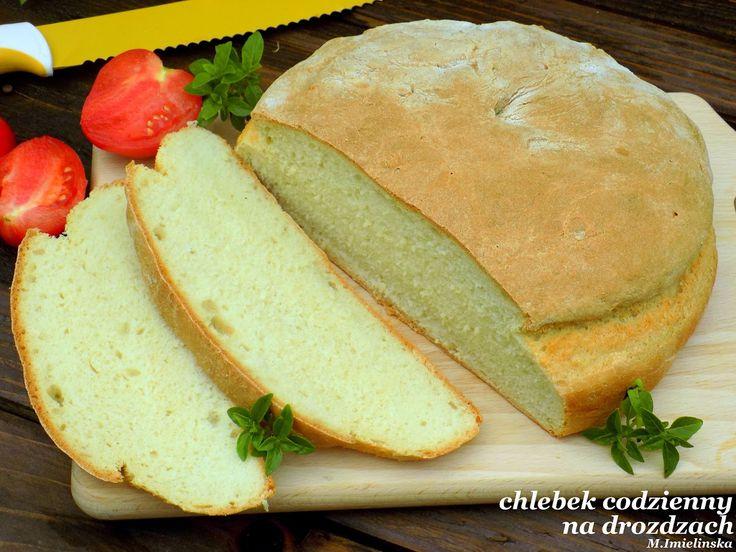 Domowa Cukierenka - Domowa Kuchnia: chleb na drożdżach- szybki, codzienny, zwykły