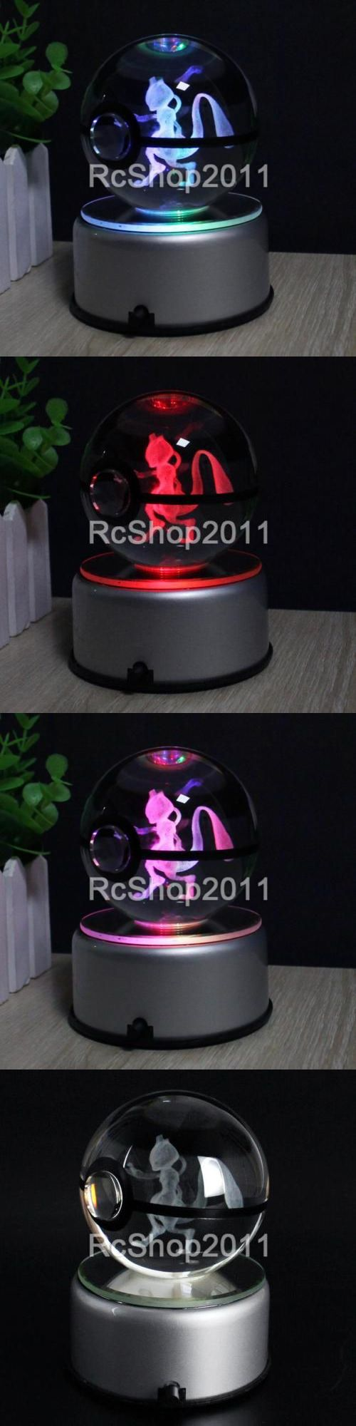 Night Lights 20702: Crystal Ball K9 Glass Pokemon Mewtwo 3D Led Night Light Touch Table Lamp Gift -> BUY IT NOW ONLY: $35.88 on eBay!