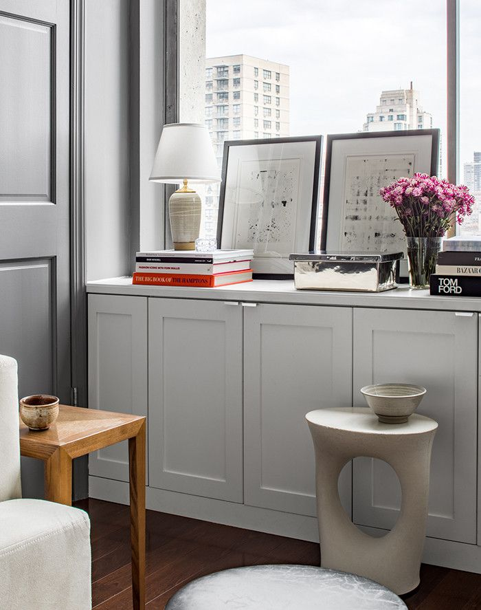 We toured the Manhattan office of interior designer Mara Silber. See how she transformed the space to suit her team of three.