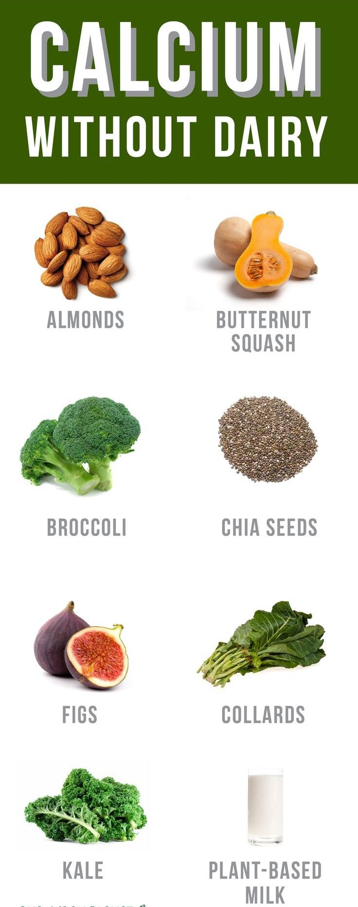 calcium rich foods - sources of calcium