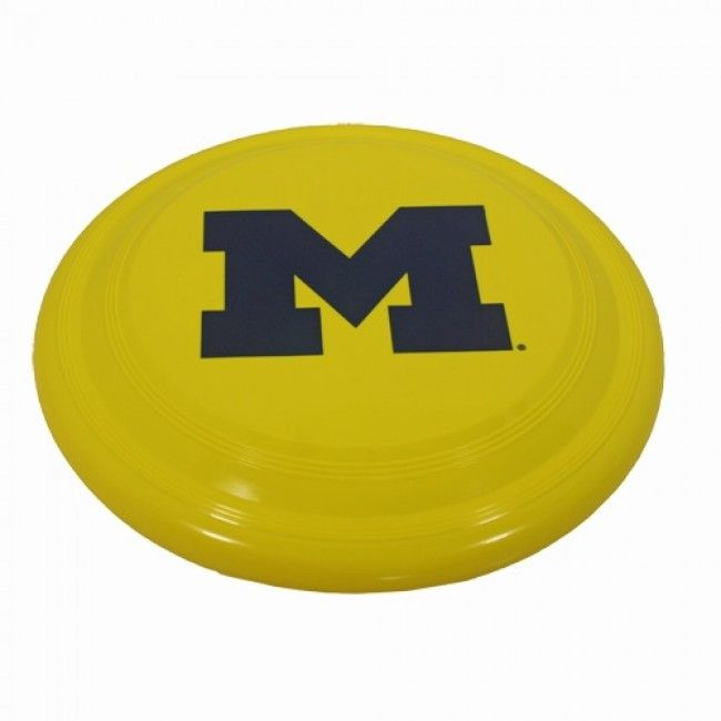 University of Michigan Frisbee Flyer At Campus Den