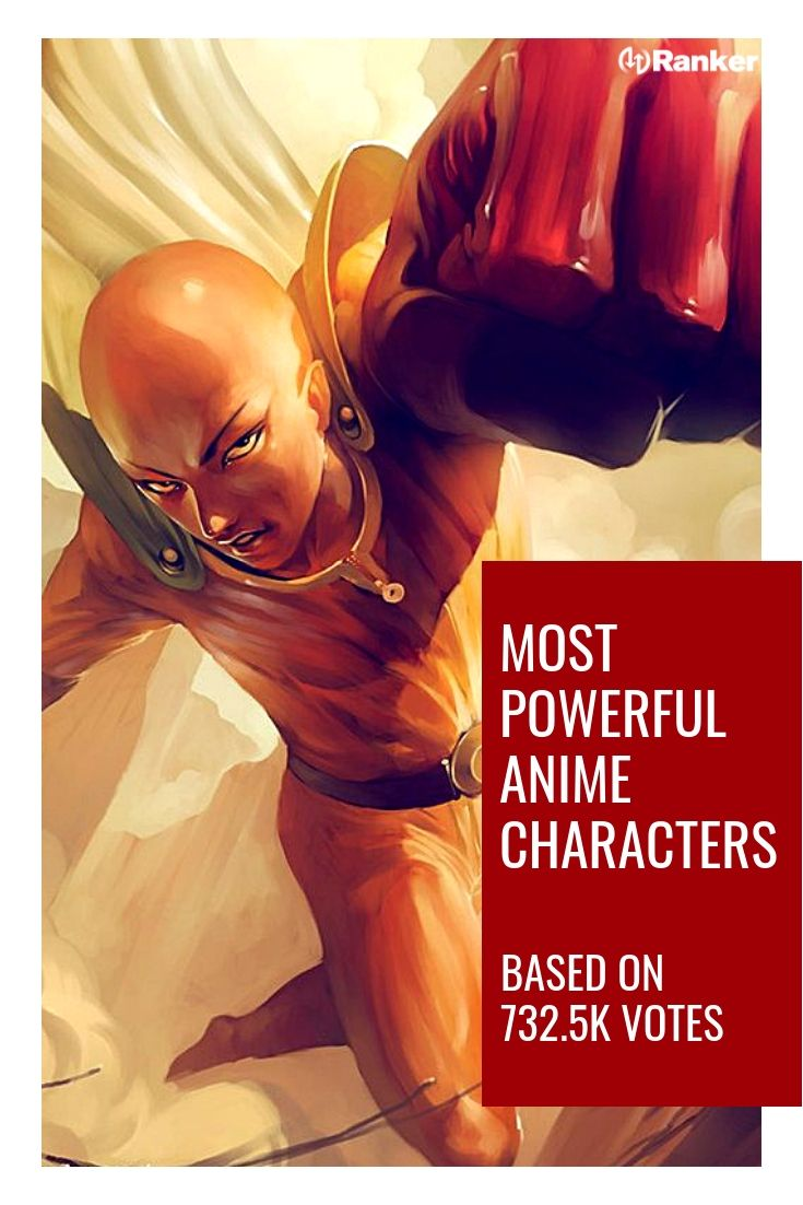 The Most Powerful Anime Characters Of All Time In 2020 With Images Anime Anime Characters One Punch Man