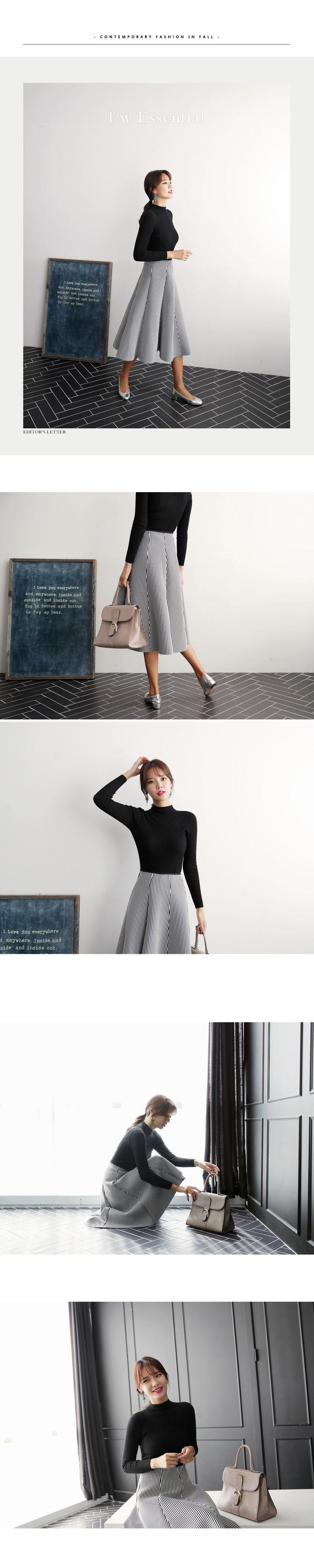 スリムニット&ネオプレーンフレアスカートSET・全1色スカートスカート|レディースファッション通販 DHOLICディーホリック [ファストファッション 水着 ワンピース]