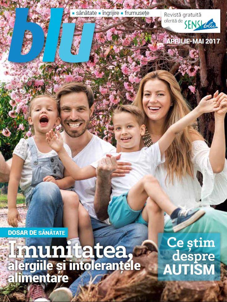 Catalog Sensiblu Oferta Blu Aprilie - Mai 2017! Descopera informatii utile despre imunitate, alergii, intolerantele alimentare si autism!