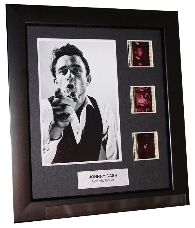 Greenlight Memorabilia Works Store - Johnny Cash (2) - 3 Cell Display, $88.60 (http://www.greenlightmemorabiliashop.com/johnny-cash-2-3-cell-display/)