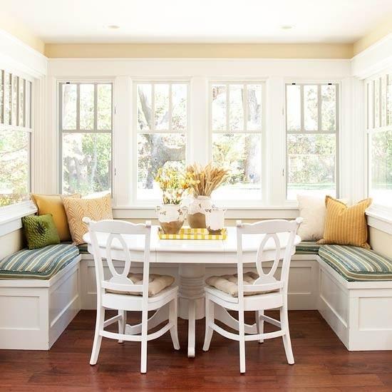 Cute Breakfast Nook Kitchen Ideas Pinterest