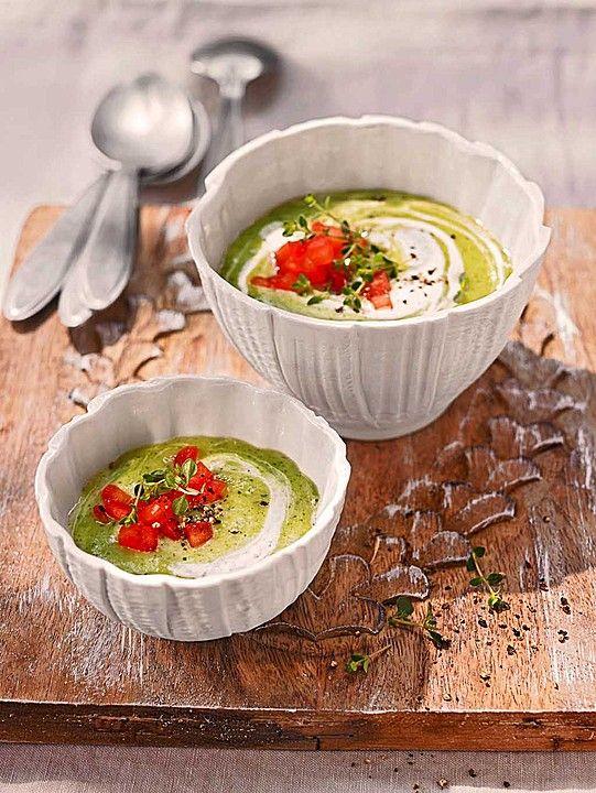 ibu 39 s kalte zucchini joghurt suppe ein perfektes sommergericht sommergerichte. Black Bedroom Furniture Sets. Home Design Ideas