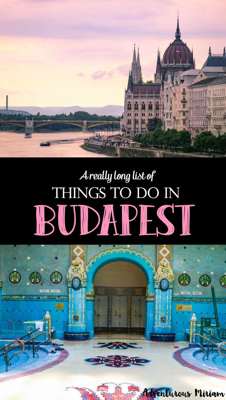 Budapeste, Hungria é a combinação perfeita de barato e de luxo, a comida é fantástica e há muita história e coisas bonitas para fazer na capital húngara.  Obtenha uma lista de todos os melhores locais aqui.