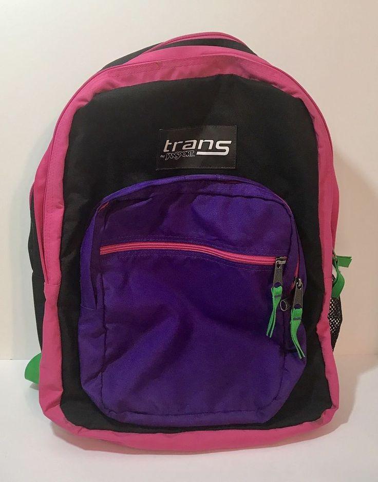 Trans by JanSport Backpack Purple Pink TB4D1209  #JanSport #Backpack