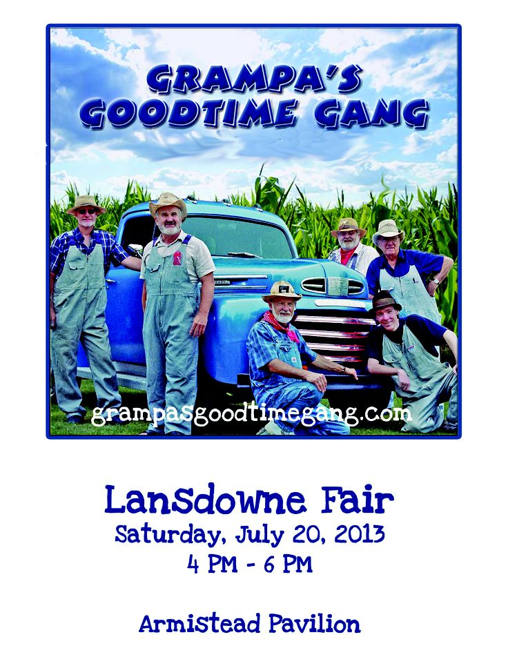 Grampa's Goodtime Gang on KickinCounty.ca