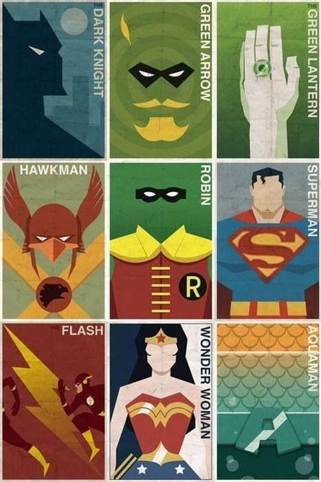 Justice League Members. You may notice that I have a similar version of this picture posted. In the original I was bothered by the size of Superman's logo. So in this one I fixed it by making it a little larger.