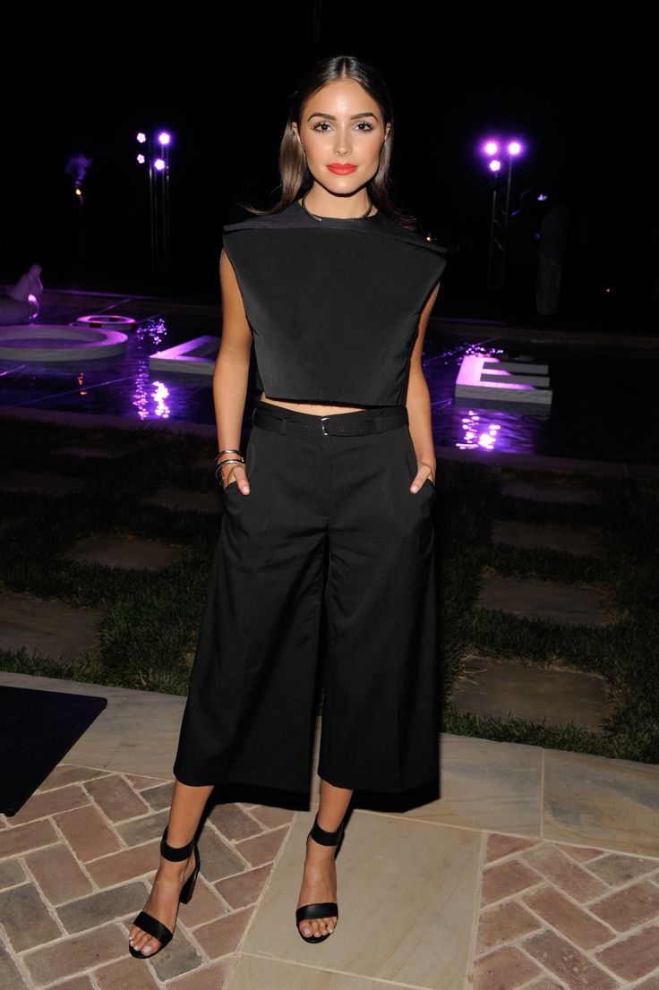 15 celebs in culottes that will make you a fan of the trend: Olivia Culpo