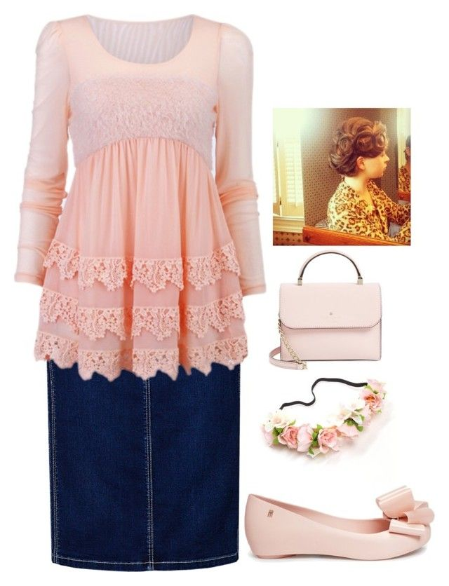 Apostolic Fashion #107 by carleemarlee35 on Polyvore featuring Betty Barclay, Melissa and Kate Spade