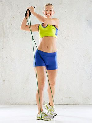 Flat Abs Fast: Core-Sculpting Resistance Band Workout | Fitness Magazine