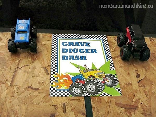 Monster Truck Birthday Games- colossal crusher C