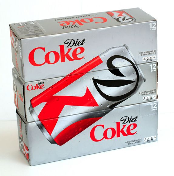 Creative Review - Diet Coke makes cropped logo packaging permanent