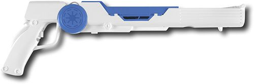 BDA - Clone Trooper Blaster for Nintendo Wii - White/Blue