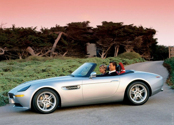 2001 BMW Z8 it would look better in a nice shiny red