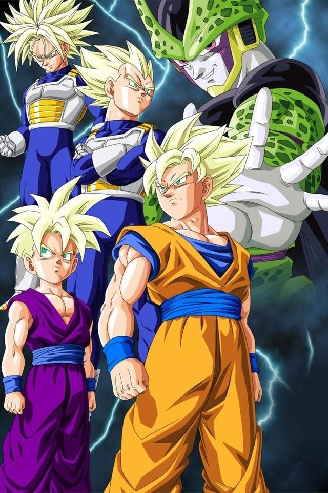 i love how these powerful warriors who can destroy planets don't stand a chance against Cell, but the eleven year old who hates fighting does