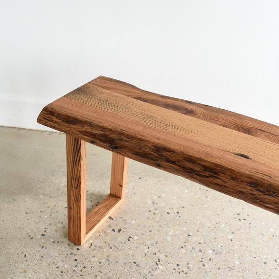 Minimalist Rustic Wood Entryway Bench In 2020 Wood Entryway Bench Rustic Wood Bench Rustic Furniture Design