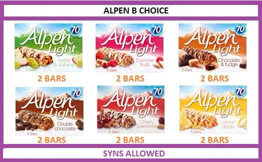 1000 ideas about alpen light bars on pinterest slimming One you slimming world