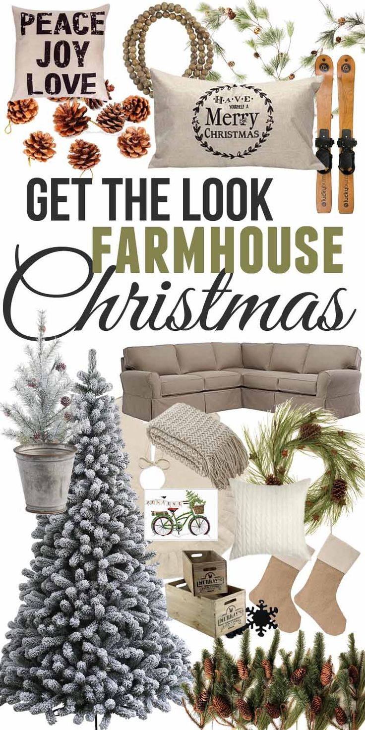 Farmhouse Christmas Looks-Gift Guide — The Mountain View Cottage