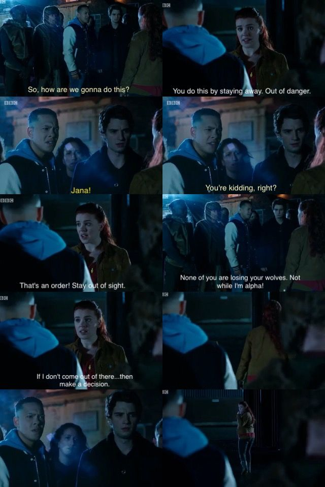 Jana tells TJ & Matei to stay away so that they won't lose their wolves | Wolfblood Season 5 Episode 10