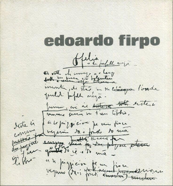 EDOARDO FIRPO,  Pastelli e disegni,  a cura di Gianfranco Bruno,  Accademia Ligustica di Belle Arti,   18 maggio - 16 giugno 1974