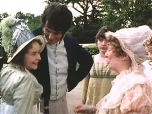 """Ah, Jane, I take your place now, and you must go lower, because I am a married woman."" --Lydia Bennet, from PRIDE AND PREJUDICE"