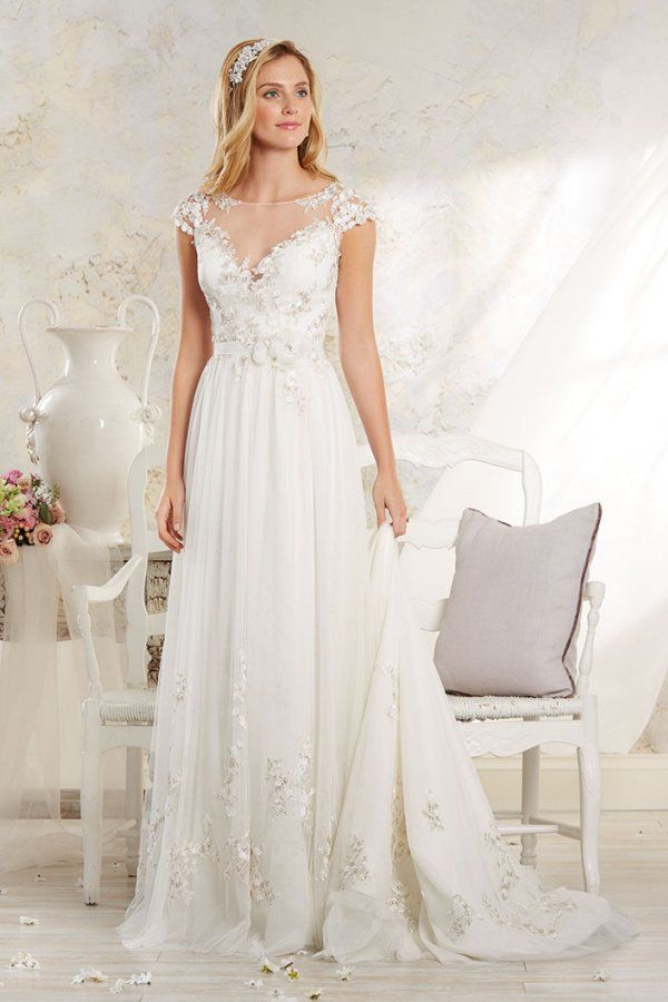 Style 8545 by Alfred Angelo Modern Vintage