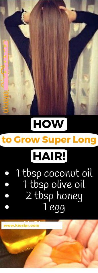 Wie man super langes Haar wachsen lässt! Wenden Sie dieses Mittel an und Sie werden es nie bereuen
