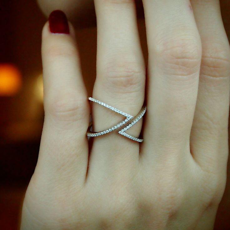 """Passing in the Night"" Diamond Ring - Plukka - Shop Fine Jewelry Online"