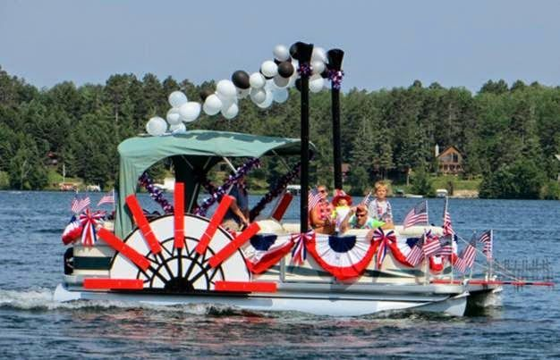 Exceptional Decorate Pontoon 4th July   Google Search | Projects To Try | Pinterest |  Decorating, Boat Parade And Boating