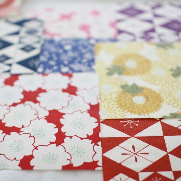 HAIBARA Chiyogami Washi Origami Paper Set | UGUiSU Online Store