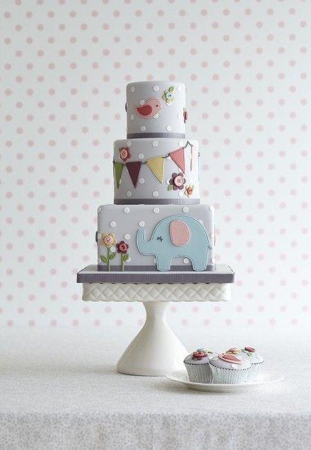 Gâteau petits pois