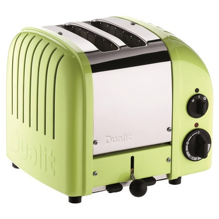 NewGen 2-Slice Toaster in Lime Green - bright and sunny for the kitchen!