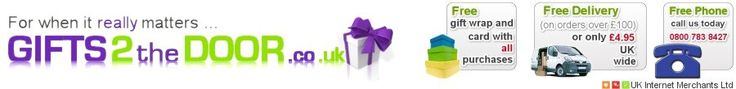 Gifts for all occasions delivered throughout the UK. For unique personalised gifts, Birthday and Chistmas gifts, Gifts for Her and Gifts for Him. Get the best gifts online at gifts2thedoor.co.uk