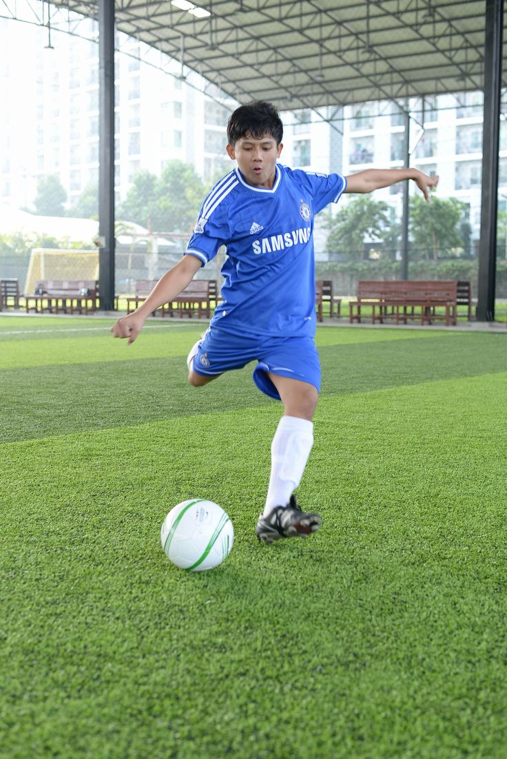 Kicking Instep Soccer Your Ball