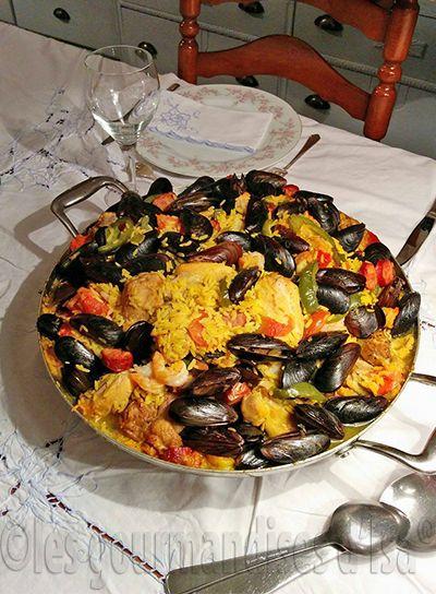 Les 25 meilleures id es de la cat gorie recette de paella for Garage ad nieul sur mer