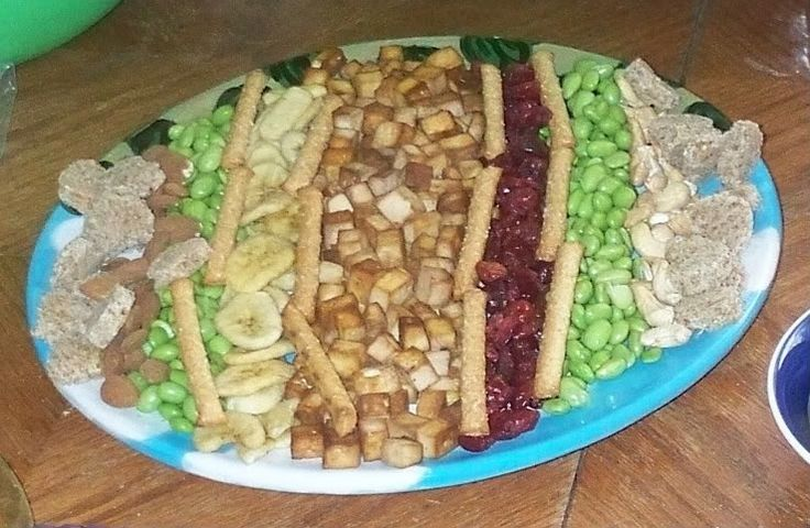 Monkey Platters—Finger-food for Kids Ideeën voor variatie.