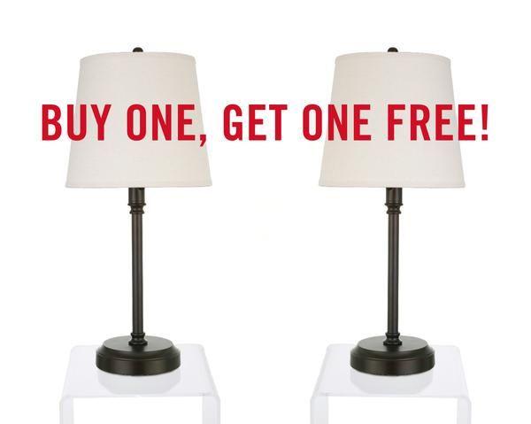 BOGO OFFER, 2 for 1, Capri Outdoor Cordless Lamps