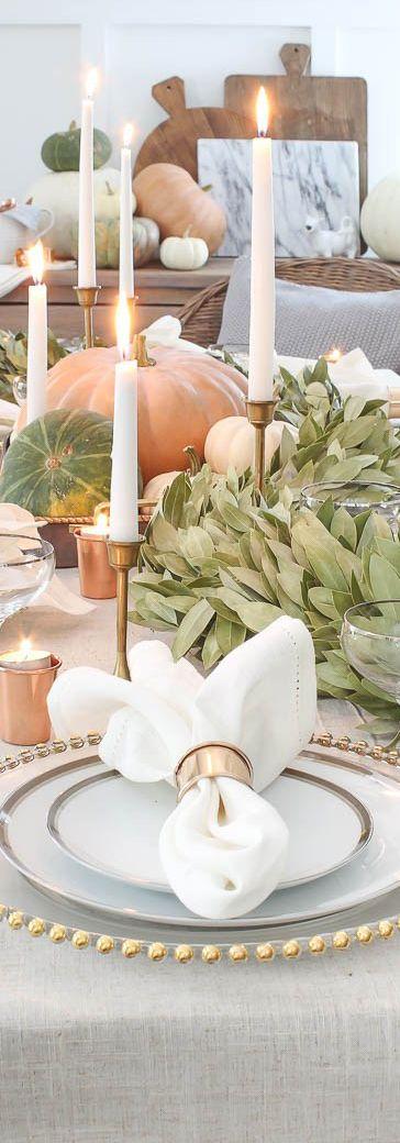 Fall & Thanksgiving Decorating Ideas