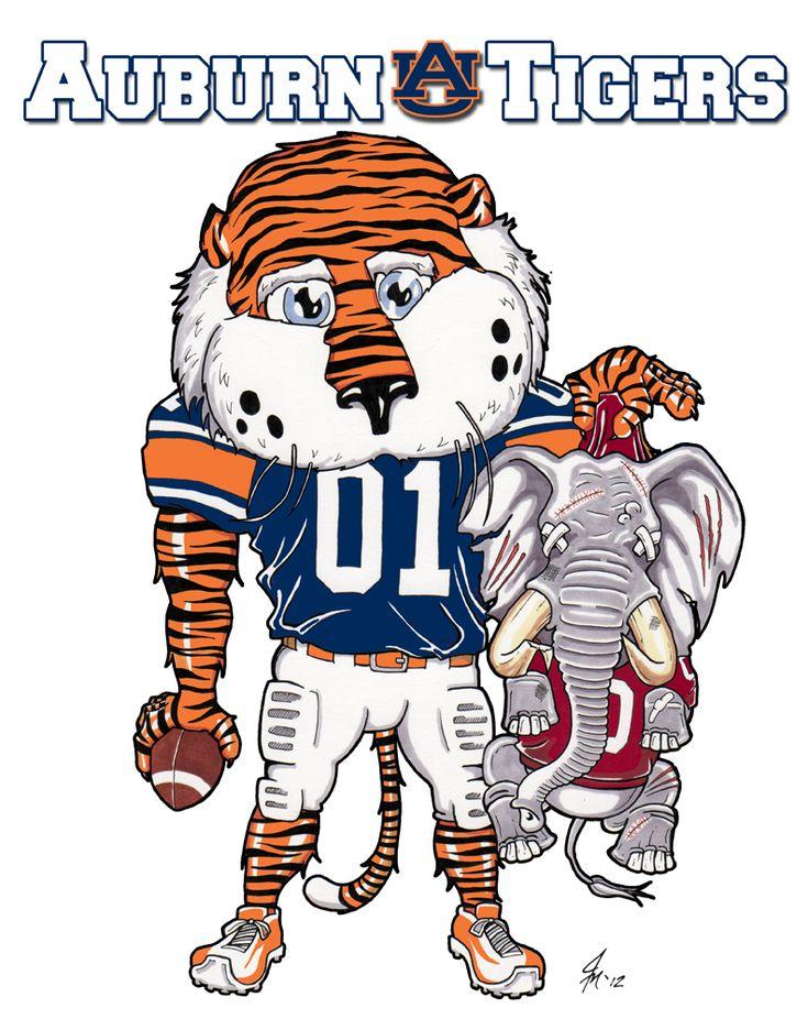 Auburn vs. Alabama -