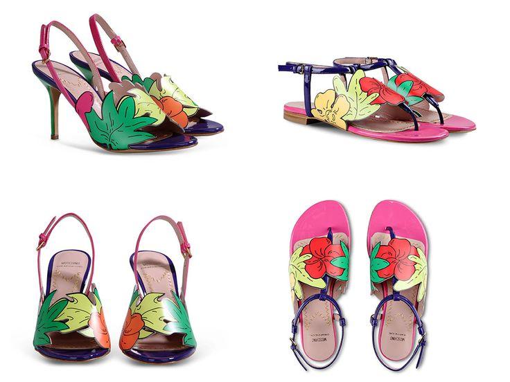 Moschino Shoes Spring 2015 - Ikifashion