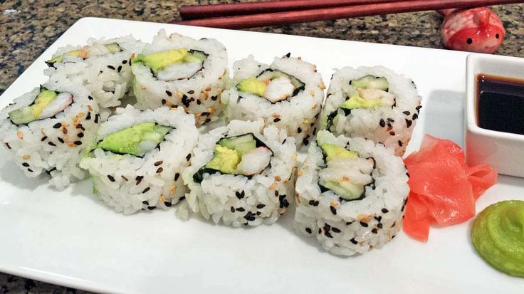 A great langostino lobster sushi roll recipe