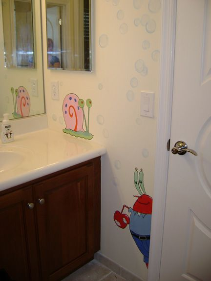 71 Best Images About Sponge Bob On Pinterest Boys Bathroom Decor Wall Stickers And Decorative