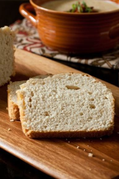 Homemade Beer Bread.  This bread recipe literally takes five minutes to prep and requires only five simple ingredients!