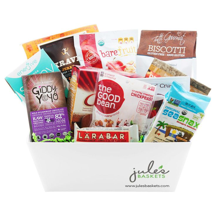 42 best gift baskets images on pinterest gift basket gift baskets snacks basket 9799 by jules baskets treats snacks organic glutenfree negle Images