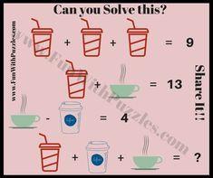 Math Puzzles Brain Teaser